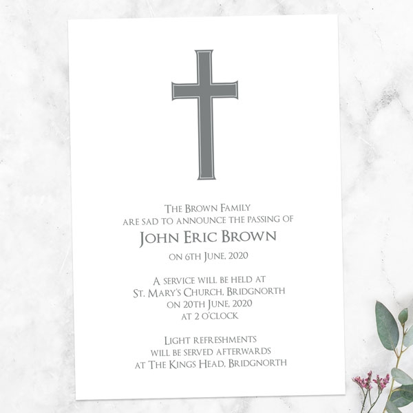 funeral-announcement-cards-traditional-cross
