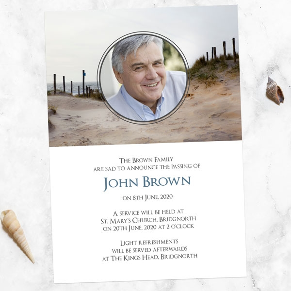 funeral-announcement-cards-sea-view-path-photo