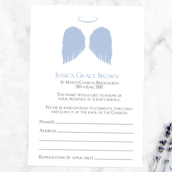 funeral-attendance-cards-lilac-angel-wings