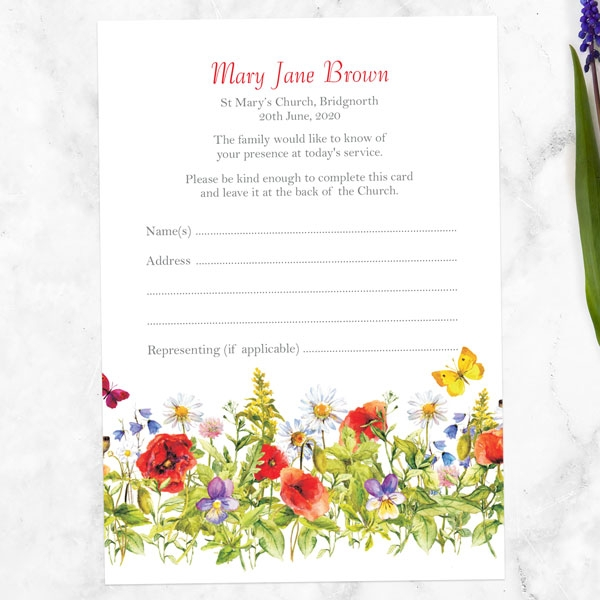 funeral-attendance-cards-poppy-meadow