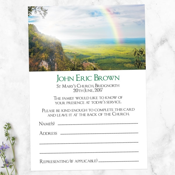 funeral-attendance-cards-rainbow-view