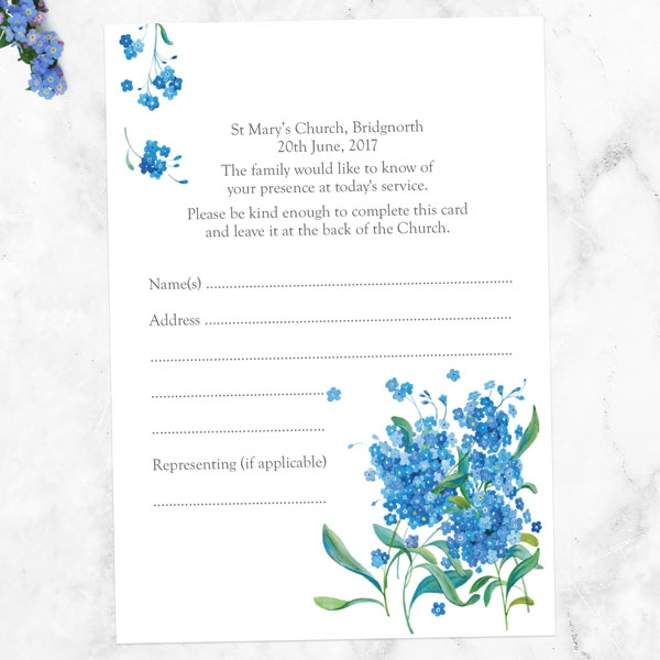funeral-attendance-cards-watercolour-forget-me-nots