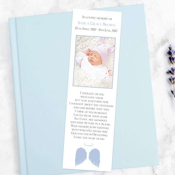 funeral-bookmark-lilac-angel-wings