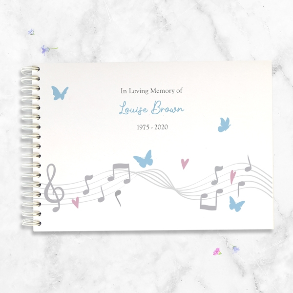 condolence-guest-book-musical-notes-butterflies