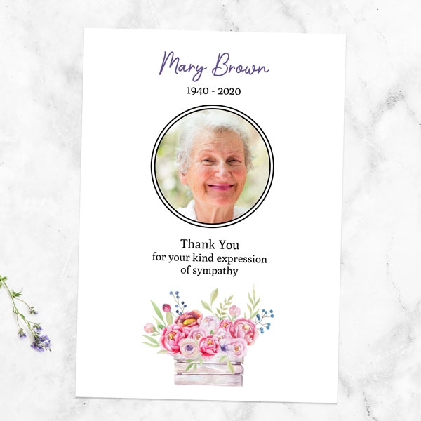 funeral-thank-you-cards-garden-blooms-photo