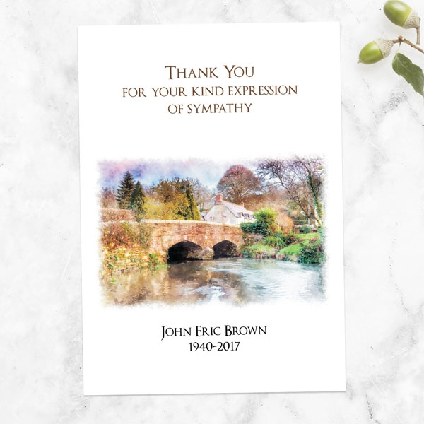 funeral-thank-you-cards-watercolour-bridge-view