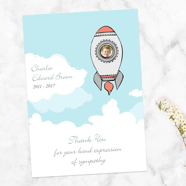 funeral-thank-you-cards-space-rocket-photo
