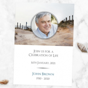 funeral-celebration-of-life-invitations-sea-view-path-photo