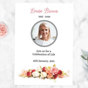 funeral-celebration-life-invitations-traditional-roses-photo