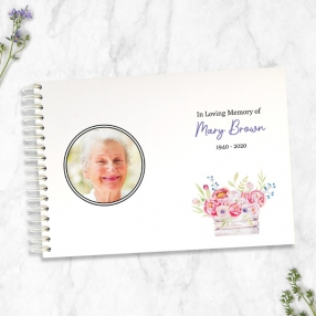 condolence-guest-book-garden-blooms-photo