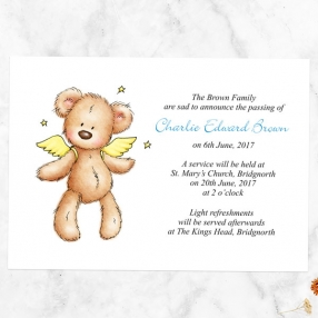 funeral-announcement-cards-blue-teddy-bear-angel