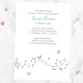 funeral-announcement-cards-musical-notes-butterflies