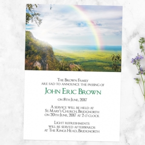 funeral-announcement-cards-rainbow-view