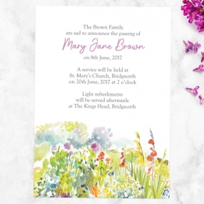 funeral-announcement-cards-watercolour-wildflowers