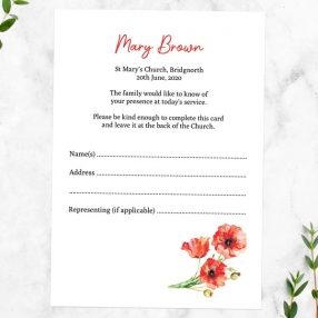 funeral-attendance-cards-watercolour-poppy-garland