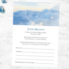 funeral-attendance-cards-heavenly-clouds