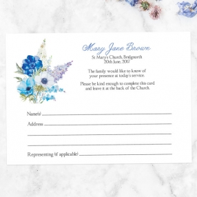 funeral-attendance-cards-lilac-bouquet
