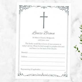 funeral-attendance-cards-ornate-cross-border