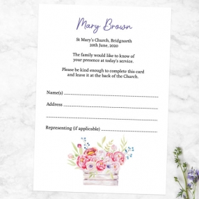 funeral-attendance-cards-garden-blooms-photo