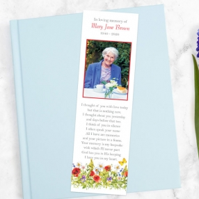 funeral-bookmark-poppy-meadow