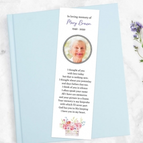 funeral-bookmark-garden-blooms-photo