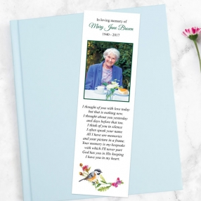 funeral-bookmark-watercolour-bird-garland