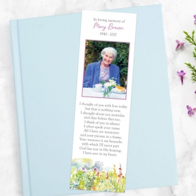 funeral-bookmark-watercolour-wildflowers