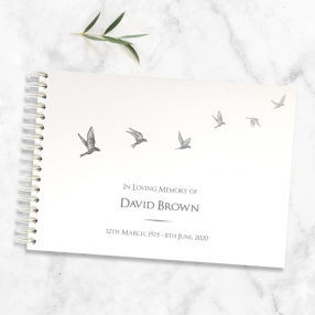 condolence-guest-book-grey-flying-birds