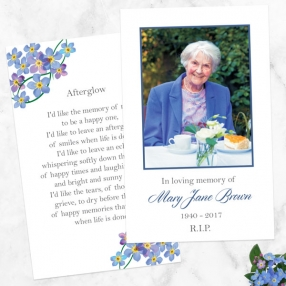 funeral-memorial-cards-forget-me-not-frame