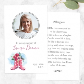 funeral-memorial-cards-gardening-wellies