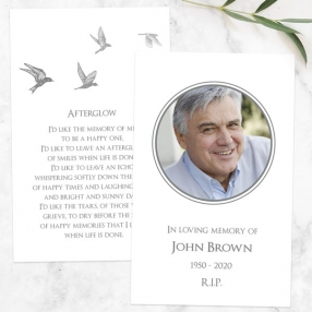 funeral-memorial-cards-grey-flying-birds