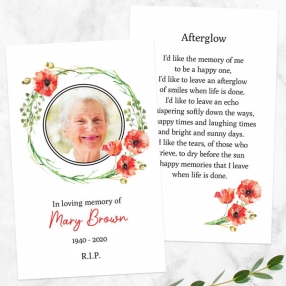 funeral-memorial-cards-watercolour-poppy-garland