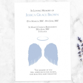 funeral-order-of-service-lilac-angel-wings