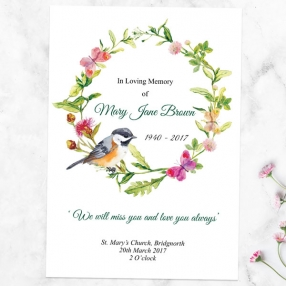 funeral-order-of-service-watercolour-bird-garland