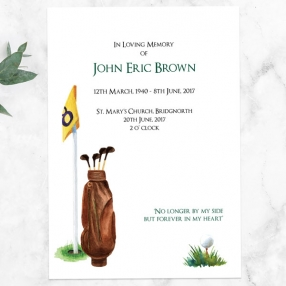 funeral-order-of-service-watercolour-golf-scene