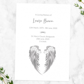 funeral-order-of-service-grey-angel-wings