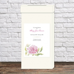 funeral-post-box-watercolour-peony