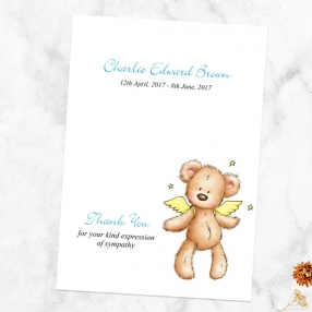 funeral-thank-you-cards-blue-teddy-bear-angel