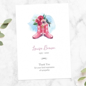 funeral-thank-you-cards-gardening-wellies