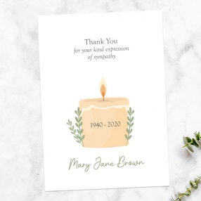 funeral-thank-you-cards-in-loving-memory-candle