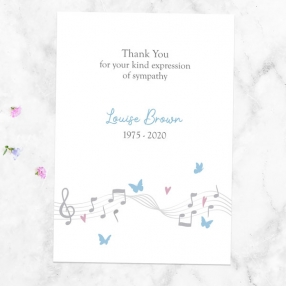 funeral-thank-you-cards-musical-notes-butterflies