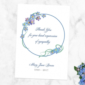 funeral-thank-you-cards-forget-me-not-frame