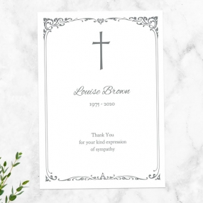 funeral-thank-you-cards-ornate-cross-border