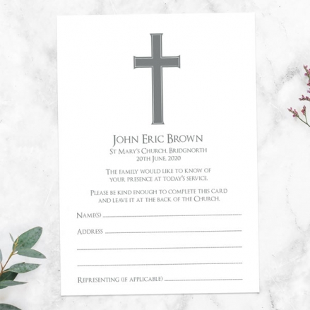 funeral-attendance-cards-traditional-cross