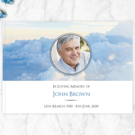 condolence-guest-book-heavenly-clouds