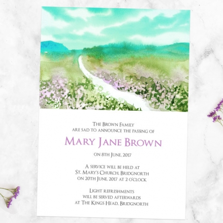 funeral-announcement-cards-country-path