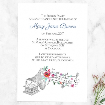 funeral-announcement-cards-musical-notes-flowers