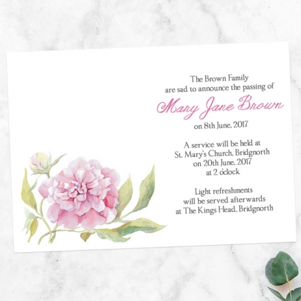 funeral-announcement-cards-watercolour-peony