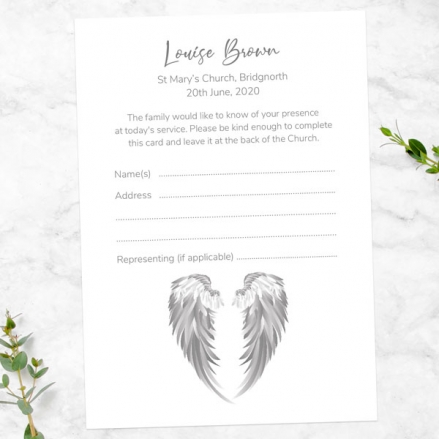 funeral-attendance-cards-grey-angel-wings