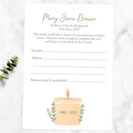 funeral-attendance-cards-in-loving-memory-candle
